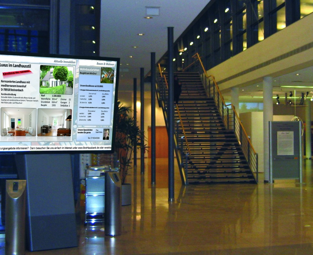 Digital Signage Foyer