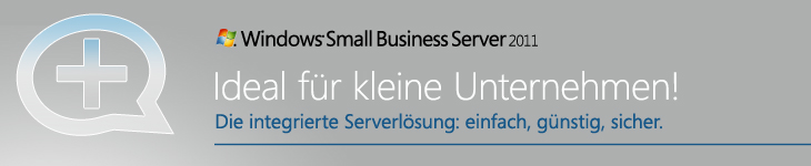 Neu: Microsoft Small Business Server 2011
